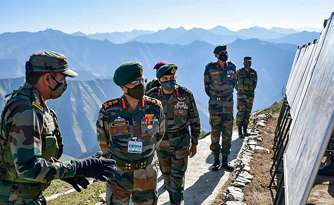 Terrorists Making Desperate Attempts To Infiltrate Into J&K: Army Chief