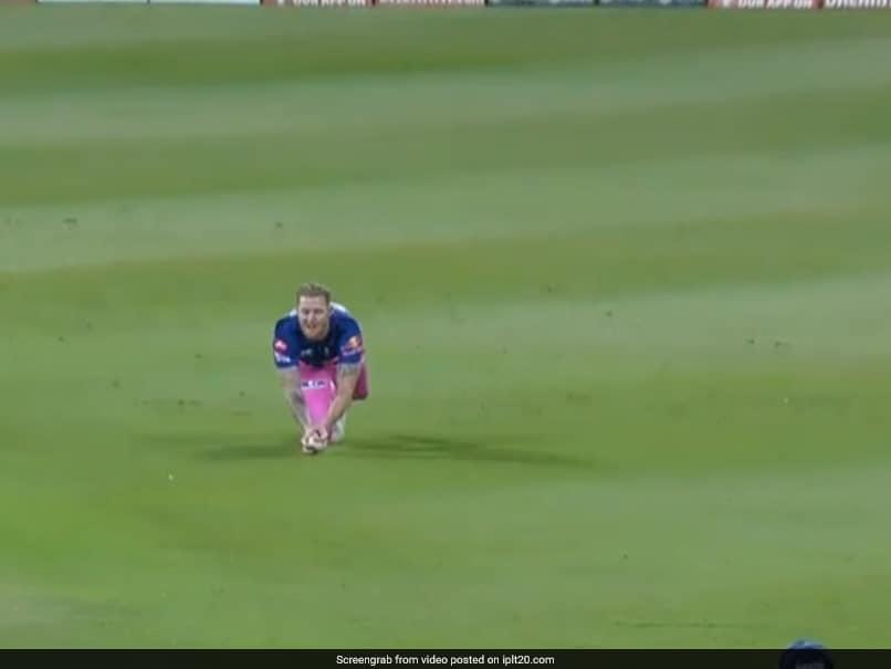 IPL 2020, KXIP vs RR: Ben Stokes Takes A Screamer Off Jofra Archers Snorter To Dismiss Mandeep Singh