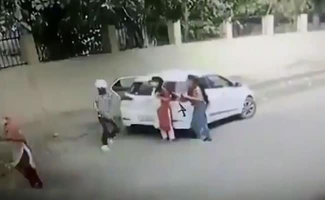 Video Shows Haryana Woman's Murder Outside Her College, Accused Arrested