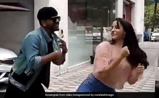Nora Fatehi और Guru Randhawa ने 'नाच मेरी रानी' पर यूं किया धमाकेदार डांस, Video में दिखी जबरदस्त केमिस्ट्री