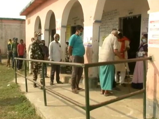 Video : Will Nitish Kumar Win A 4th Term? Bihar Votes In 1st Election Amid Covid