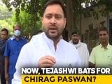 Video : As Tejashwi Yadav Supports Chirag Paswan, Double Worry For Nitish Kumar