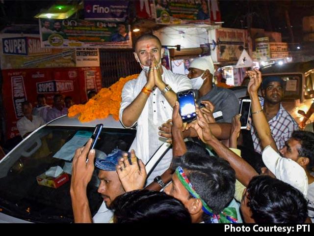 Video : Chirag Paswan Targets Nitish Kumar Again, This Time Over Alcohol Ban