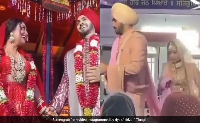 Neha Kakkar ने रोहनप्रीत सिंह के साथ गुरुद्वारे में लिये फेरे, यूं पहनाई एक-दूसरे को वरमाला- देखें Videos