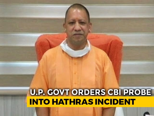 Video : Yogi Adityanath Recommends CBI Probe In Hathras Rape-Murder Case
