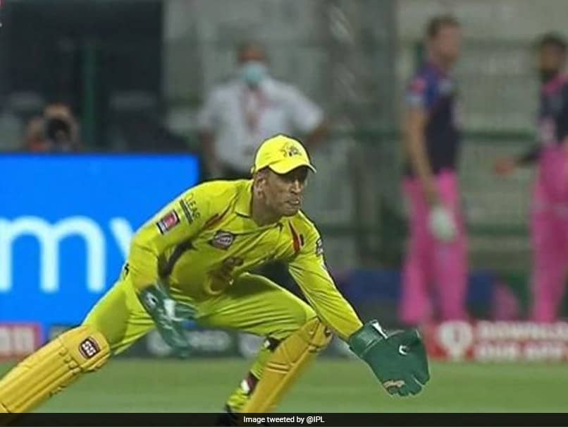 IPL 2020: MS Dhoni Shows Age Is Just A Number With Stunning Catch. Watch