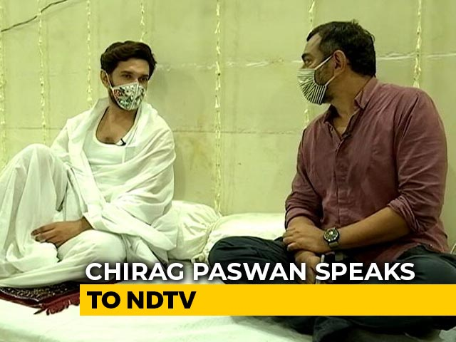 Video : Chirag Paswan Exclusive With NDTV After Shock Split From NDA For Bihar Polls