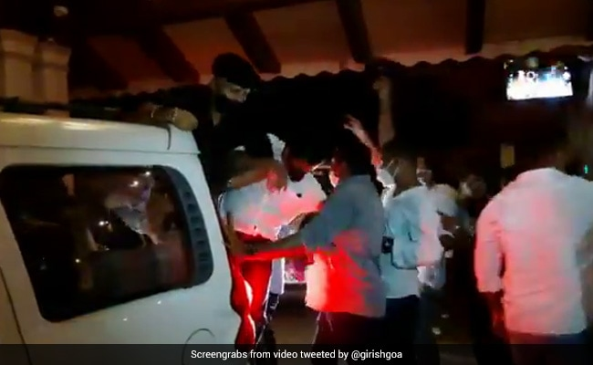 'Jungle Raj In Goa': Congress Leaders Detained After Midnight Protest