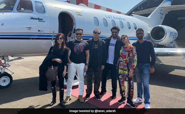 Saif Ali Khan, Arjun Kapoor, Jacqueline Fernandez And Yami Gautam Fly To Dalhousie For Bhoot Police