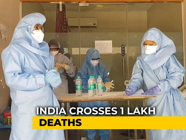 Video : India's Coronavirus Death Count Crosses One Lakh