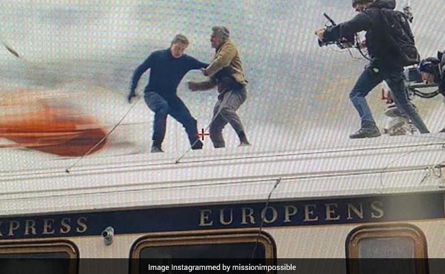 Mission Impossible 7: टॉम क्रूज ने तेज रफ्तार ट्रेन पर की शूटिंग, Video देख थम जाएंगी सांसें