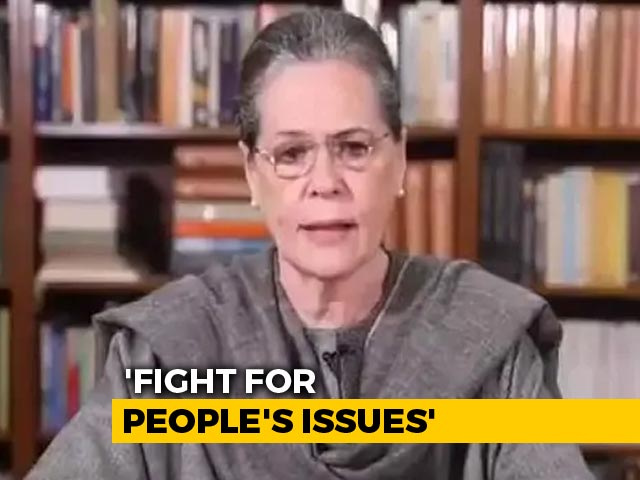 Video: Democracy Passing Through 'Most Difficult Phase': Sonia Gandhi