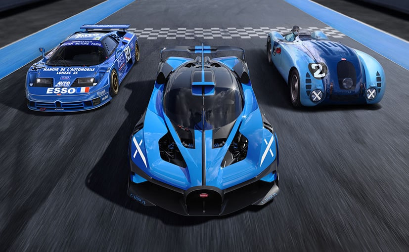 Bugatti Bolide Track-Only Hypercar Revealed; Top Speed In Excess Of 500 Kmph