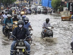 In Pics: Heavy Rains In Hyderabad Cause Flooding, Rescue Ops On