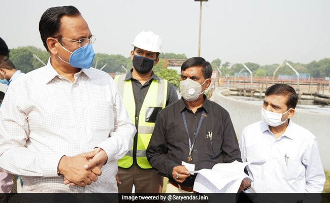 Delhi Minister Inspects Wastewater Treatment Plants At Rohini, Rithala And Coronation Pillar
