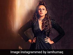 We Can't Take Our Eyes Off Huma Qureshi Who Spreads Her Magic In Sparkling Black