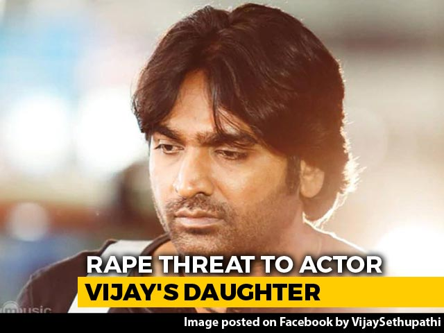 Video: Actor Vijay Sethupathi's Daughter Gets Rape Threat Over Muttiah Muralitharan Biopic Row