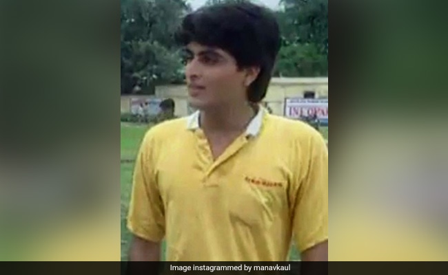 Just A Pic Of Wazir Actor Manav Kaul From His 'First Acting Job'
