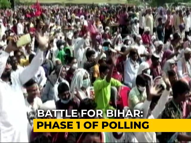 Video : Voting For 1st Phase Of Bihar Assembly Election Tomorrow; 71 Seats Go To Polls