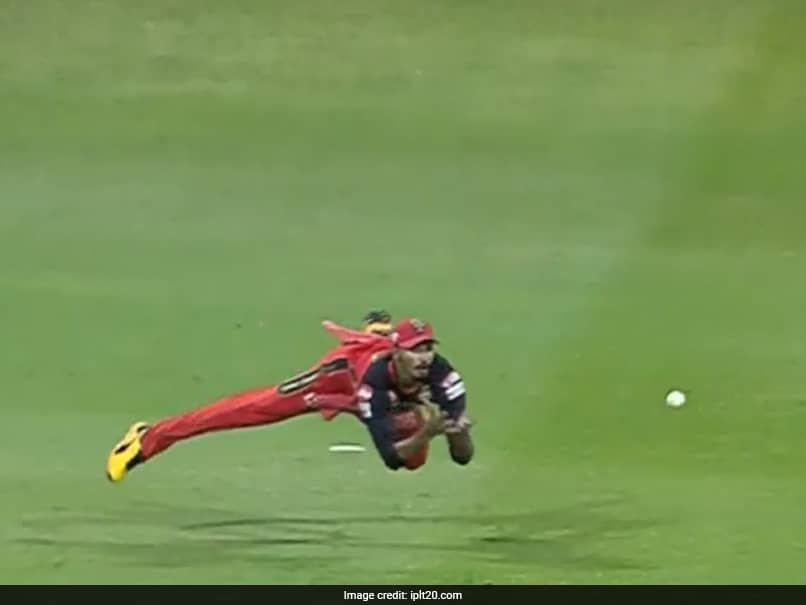 IPL 2020, MI vs RCB: Devdutt Padikkal Takes A Stunning Catch To Dismiss Saurabh Tiwary. Watch