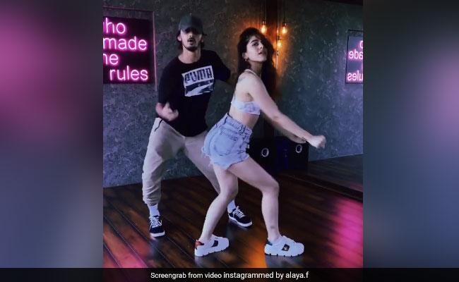 बॉलीवुड एक्ट्रेस अलाया एफ ने किया धमाकेदार डांस, तो फैन्स बोले- नोरा फतेही से बेहतर...देखें Video