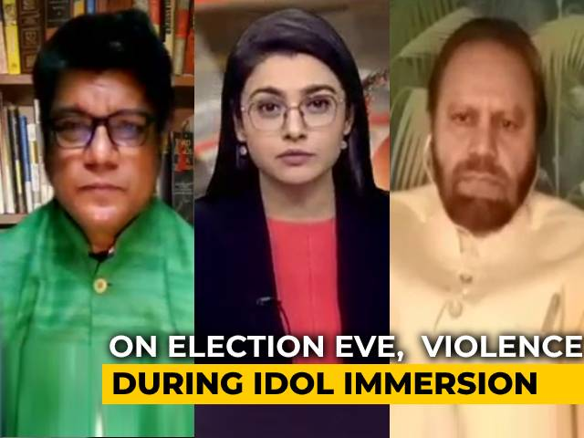 Video : Violence In Bihar's Munger During Idol Immersion