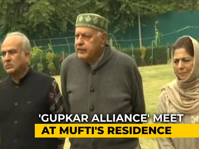 Video : J&K Coalition To Be Led By Farooq Abdullah, Will Use Old State Flag