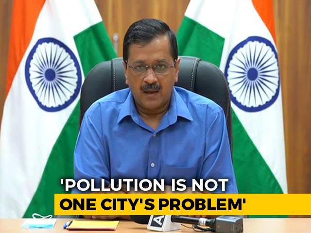 """Video : """"Keep Politics Aside, Fight Air Pollution Together"""": Arvind Kejriwal"""