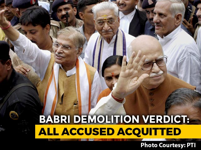 Video : Babri Demolition Acquittal: Will It Mark The End Of Temple Politics?