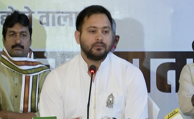 Will Increase Retirement Age Of Government Employees If Voted To Power: Tejashwi Yadav
