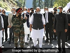 Atal Tunnel Dedicated To Armed Forces, People In Border Areas: Rajnath Singh
