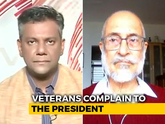 "Video : ""Disbanded Muslim Regiment A Lie"": Veterans Write To PM, President"