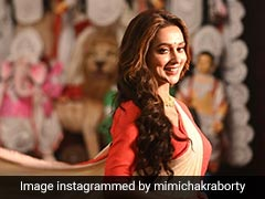 "MP Mimi Chakraborty Is Feeling The ""Post Pujo Blues"". See Her Insta Posts"