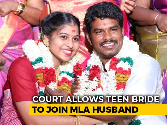 Video : Court Allows Tamil Nadu Teen To Go With MLA Husband, Closes Father's Plea