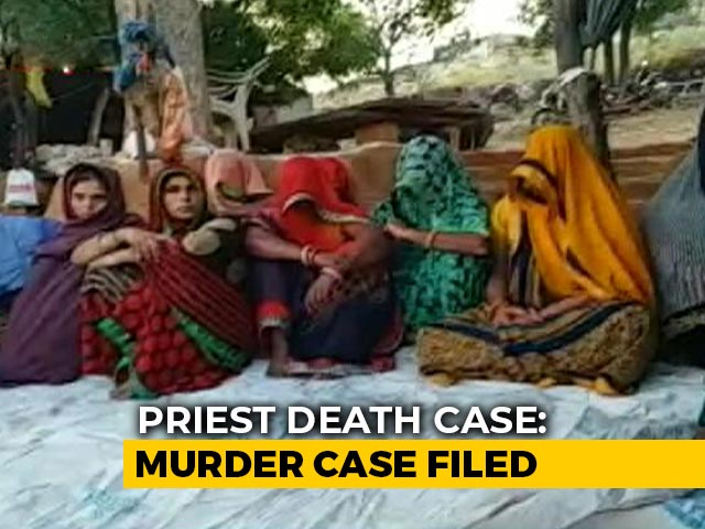 Video : Family Of Rajasthan Priest, Burnt Alive Over Land, Refuses To Cremate Him