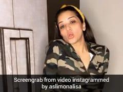 Monalisa ने गुरु रंधावा के गाने 'बेबी गर्ल' पर बिंदास अंदाज में यूं किया डांस, वायरल हुआ Video
