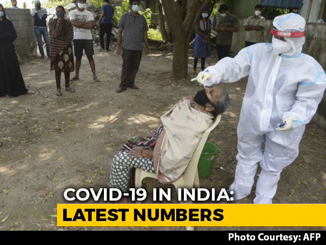 Video: India Covid Tally Nears 80 Lakh, 43,893 New Cases; 508 Deaths In A Day