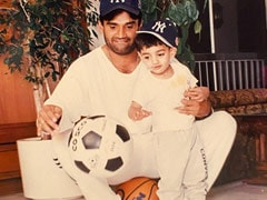 Suniel Shetty's Caption For Childhood Pic Of Son Ahan Is Dad Goals