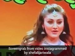 Shefali Jariwala का नोरा फतेही के 'गर्मी' सॉन्ग पर धमाकेदार डांस, देखें Video
