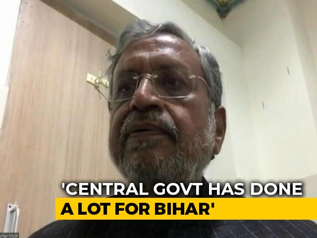 Video : We Have Controlled COVID-19 Pandemic In Bihar: Sushil Modi