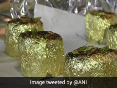 Surat-Based Sweet Shop Introduces 'Gold' Sweet At Rs. 9,000 per kg