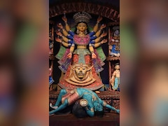 """Citizens Throng Durga Puja Pandal As Bengal Says """"Covid Not Over Yet"""""""