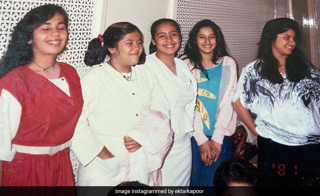 Ekta Kapoor Gives Herself 'Full Marks For Confidence' In This Throwback