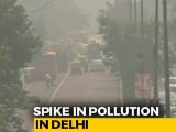 "Video : Delhi's Air Quality Remains ""Very Poor"", Will Deteriorate Further In 2 Days"