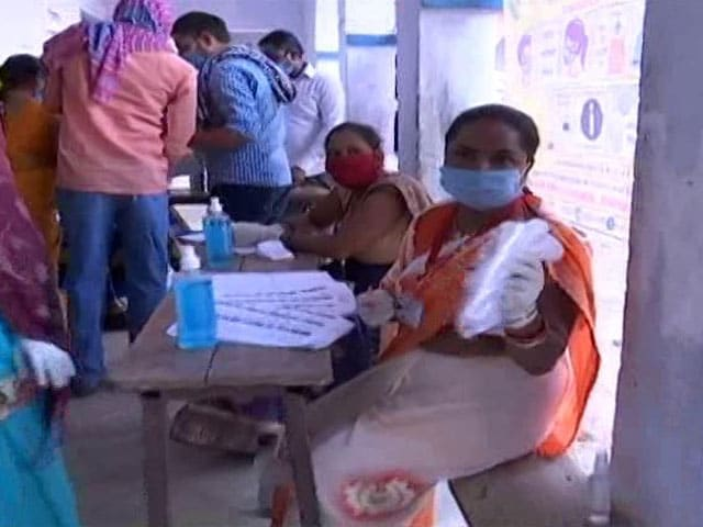 Video : At Bihar Polling Booths, Masks, Gloves Available For Voters