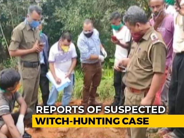 """Video : Meghalaya Man, 80, """"Buried Alive Over Witchcraft"""", 8 Arrested: Police"""