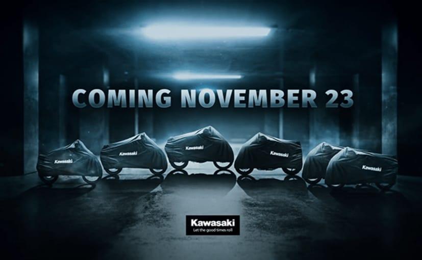 Kawasaki will reveal six new models on November 23