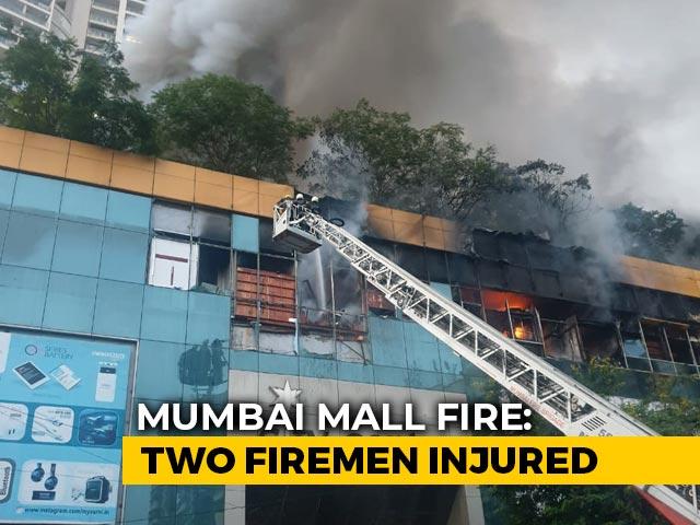 Video : Fire At Mumbai Mall, 3,500 Residents Evacuated Next Door