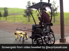Video Of Robot Pulling A Rickshaw Goes Viral. Watch