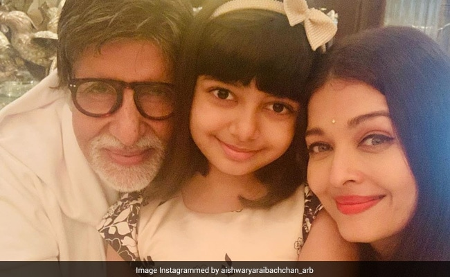 The Perfect End To Amitabh Bachchan's Birthday - Posts From Aishwarya And Aaradhya